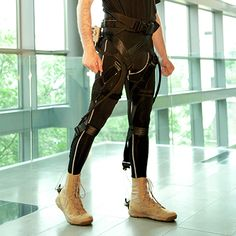 A soft, lightweight exoskeleton developed at Harvard applies assistive force without interfering with a person's normal gait.
