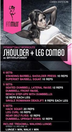 Fitmiss Shoulders & Legs by Chady Dunmore