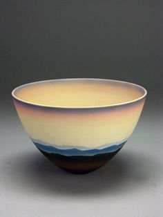 Porcelain bowl by Peter Lane.
