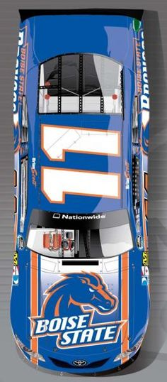 Idaho Native Brian Scott's Boise State themed car