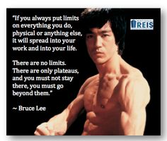 DO NOT limit yourself - you can do more than you know!