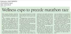 Wellness expo to precede race Ultra Marathon, East London, Legends, Racing, Wellness, Auto Racing, Lace