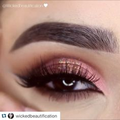 Stunning EOTD by @wickedbeautification using: LID: Makeup Addiction flaming love palette ...