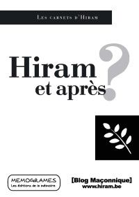 Hiram et après ? de Jiri Pragman et consorts