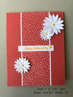 Daisies – FMS 284 – Stamp It Up with Jaimie