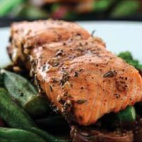 Grilled Salmon with Balsamic and Rosemary Marinade Recipe | Wine Pairing | Gold Medal Wine Club