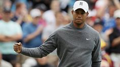 Tiger Woods on the way back...