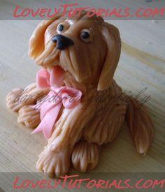 Собака, собачка, Dog, doggie, Hund, pes, chien - Страница 7 - Мастер-классы по украшению тортов Cake Decorating Tutorials (How To's) Tortas Paso a Paso