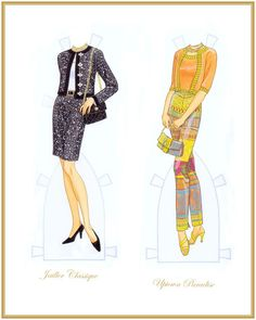 Fashion Weekly Awards Paper Dolls - Yakira Chandrani - Álbumes web de Picasa