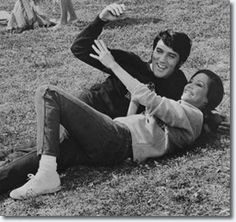 Elvis & Mary on the set of change of habit Gotta watch this movie