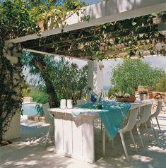 Os mostramos algunas ideas para decorar una terraza con estilo mediterráneo y muy buen gusto. #decoración #terrazas
