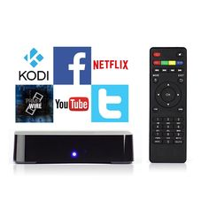 Android TV Box with Kodi PRE-installed - Stream Millions of Movies, TV Shows and Music for FREE - Kodi, YouTube, Netflix, Browser and More Apps All Pre-Installed - NO Setup Required - Just Plug & Play
