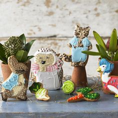 Go behind the scenes of the Biscuiteers Beatrix Potter collection on our blog #Beatrix150