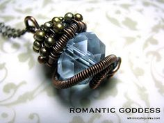 Wire jewelry pendant... sigh