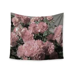 """Found it at Wayfair - """"Blush Pink Flowers"""" by Susan Sanders Wall Tapestry"""