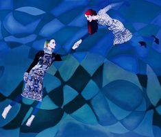 Orante Surrealist Series - 'The Surrealist Ideal' by Erik Madigan Heck Boasts Katrantzou's Fashions (GALLERY)