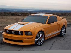 Grabber orange GT Mustang!!