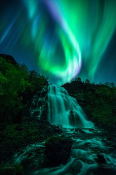 ~~Nightfall | aurora borealis, Norway | by Tommy Eliassen~~
