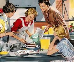 Image result for vintage kitchen baking