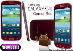 samsung galaxy s3 in red - Google Search