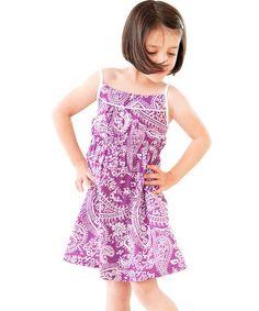 This Bianca Babydoll Dress - Girls by Frangipani Kids is perfect! #zulilyfinds