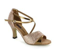 Gold glitter and Patent Shoe dcls265908 - DanceShoesOnline.com http://www.danceshoesonline.com/LS169801.html