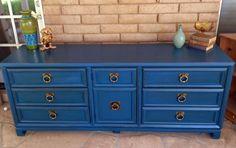 Shabby Chic blue
