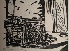 There is something so powerful about woodblock prints.