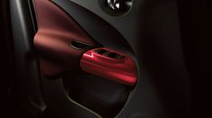 Nissan JUKE® Interior with red accents