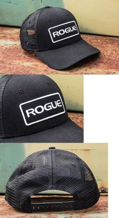 Hats and Headwear 158918: New Rogue Fitness Patch Black Tactical Trucker Snap Back Breathable Mesh Hat BUY IT NOW ONLY: $39.95