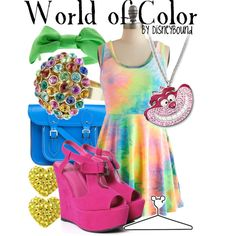 """""""World of Color"""" by lalakay on Polyvore"""