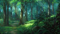 Forest by andanguyen.deviantart.com on @DeviantArt