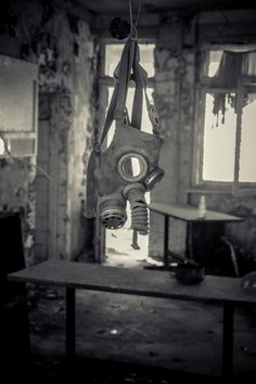 Inside Chernobyl: Haunting photos of nuclear wasteland   A gas mask would have provided little protection when the Chernobyl disaster occurred on April 6, 2013. While the official casualty count stands at 31 deaths, this number has been heavily disputed due to the numerous long-term effects of radiation such as cancer and deformities.