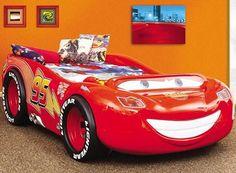 Pat copii in forma de masina McQueen Home Deco, Mcqueen, Furniture, Products, Home Furnishings, Arredamento, Gadget