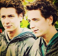 Callum and Finlay Anderson  (James and Oliver Phelps)