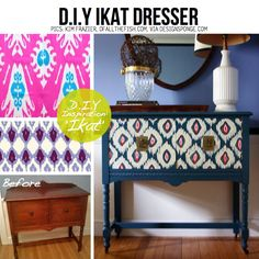 Ikat Chest of Drawers