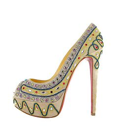 "Christian Louboutin 2012 spring summer ~ Love everything about them, but, you know! :""("