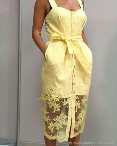 Платье сарафан – купить в интернет-магазине на Ярмарке Мастеров с доставкой - DI0ATRU | Ростов-на-Дону