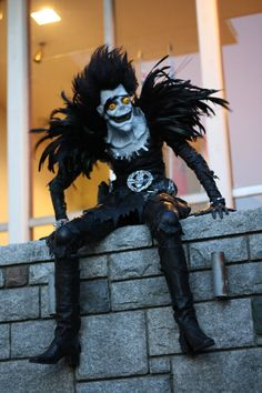 best ever Ryuk from Deathnote. instructions on how it was made.
