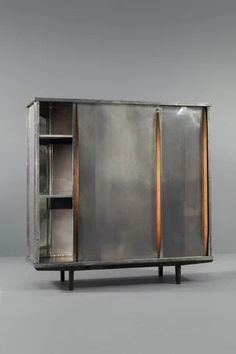 """""""Wardrobe with Polished Aluminium Doors, ca 1946"""" https://sumally.com/p/765140"""