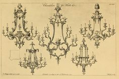 Chandeliers for halls