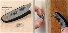 Fingertip Magnet - Woodworking http://www.leevalley.com/US/wood/page.aspx?cat=1,42363,42356&p=73522