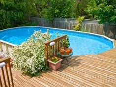 Customize your above-ground pool deck with tips and ideas from experts at HGTV Remodels.