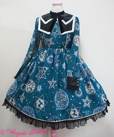 Angelic Pretty - Magic Amulet ((green x blue))