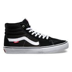 6a130d41a5572b Vans Men s Sk8 Hi Pro Shoes - Black White Bmx Shoes