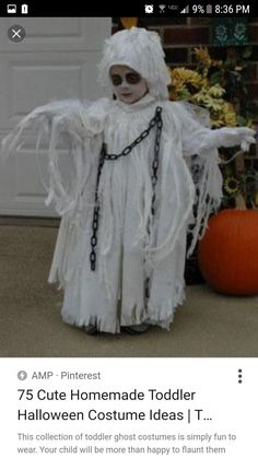 The Best Ghost Costumes | A Little Boy In A Ghost Costume | CostumePrize™ | Funnies!!! | Pinterest | Ghost costumes Costumes and Halloween costumes  sc 1 st  Pinterest & The Best Ghost Costumes | A Little Boy In A Ghost Costume ...