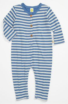 Stem Baby Stripe Romper (Infant) available at #Nordstrom