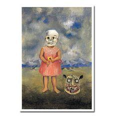 フリーダ・カーロ《死の仮面を被った少女》