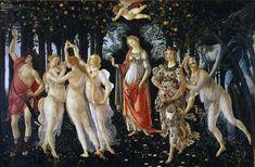 La Primavera (Allegory of Spring) by Botticelli