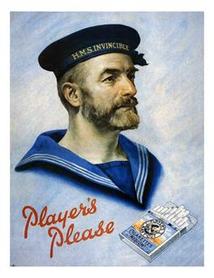 players_navy_cigarettes (my dad was the era who smoked these - no filter) Vintage Advertising Posters, Vintage Advertisements, Vintage Posters, Vintage Humor, Vintage Ads, Vintage Signs, Family Memories, Childhood Memories, Vintage Cigarette Ads